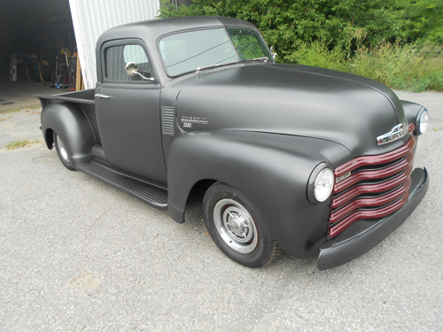 Collector Car Productions 1951 1953 Chevrolet Pickup Jada 1952 3100 Resto Mod With Custom Touches