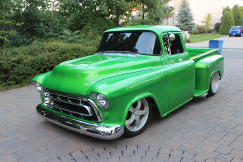 Collector Car Productions 1951 1953 Chevrolet Pickup Jada 1957 C1500 Power And Style