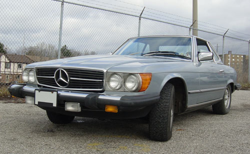 1982 Mercedes-Benz 380SL Convertible. Auctioned on Friday, April 4, 2008